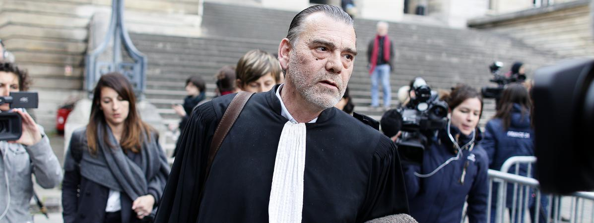 Frank Berton, l'avocat de Salah Abdeslam, le 27 avril 2016 à Paris.