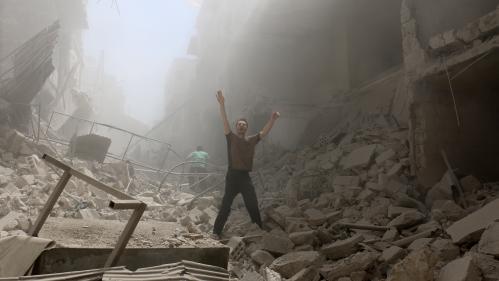 EN IMAGES. Syrie : Alep plongée dans l'enfer de la guerre