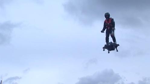 Le Flyboard Air ou l'art de se déplacer en volant