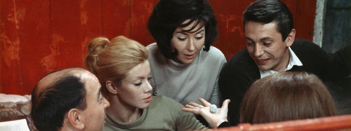Rita Renoir La Cage Act 1960
