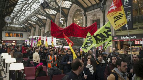 Grèves : ce qui vous attend si vous devez prendre le train, le métro ou l'avion aujourd'hui ou dans les prochains jours