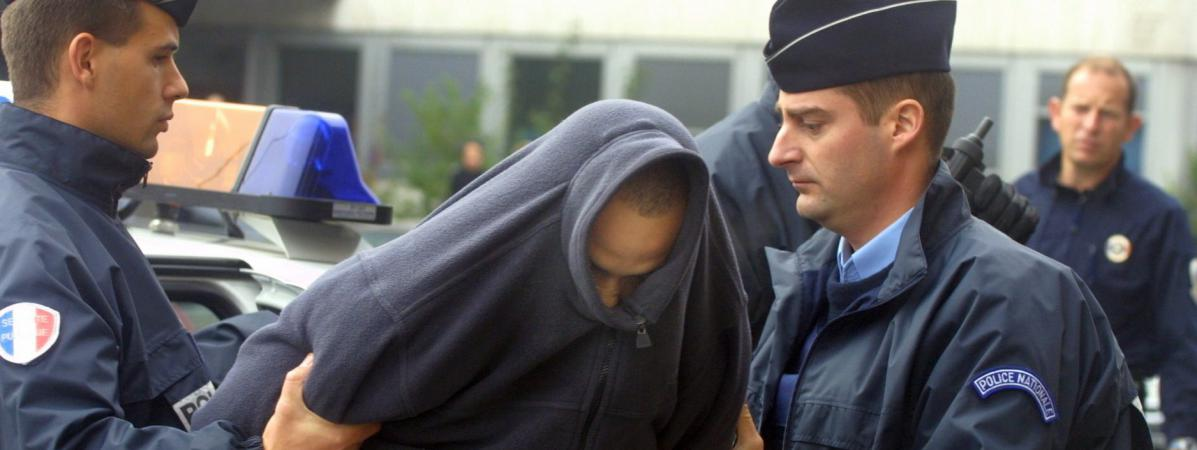 Sofiane Hambli, le 19 novembre 2012, devant le tribunal de Mulhouse (Haut-Rhin).