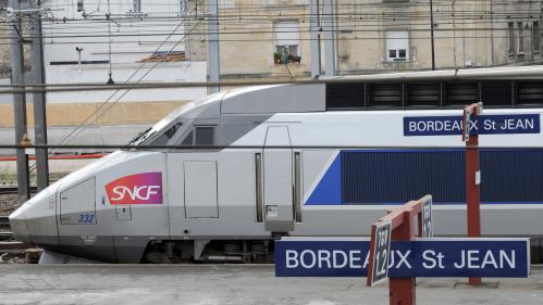 Pagaille sur la ligne TGV Bordeaux-Paris après une panne d'aiguillage