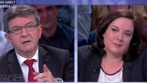 VIDEO. Mélenchon face à Cosse : la passe d'armes à gauche sur le plateau de France 2