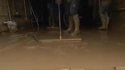 Somme : une coulée de boue traverse une commune