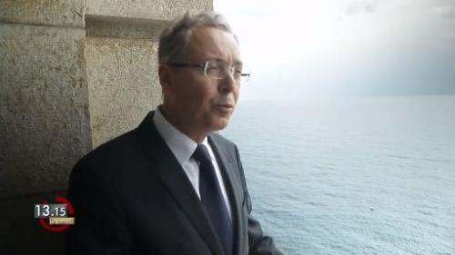 """VIDEO. 13h15. Cousteau : """"Il s'est transformé en un protecteur de la mer Méditerranée"""""""