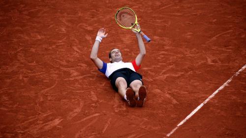 Roland-Garros : Gasquet tient enfin son quart de finale