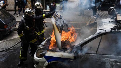 Voiture de police incendiée: un cinquième suspect mis en examen