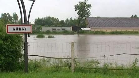 Intempéries : dans l'Yonne, des habitants évacués en pleine nuit