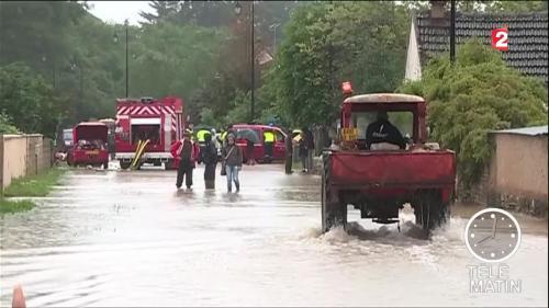 Intempéries : l'Yonne sous les eaux
