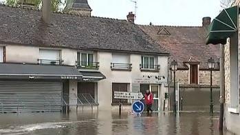 Seine-et-Marne : la circulation interrompue après les pluies diluviennes