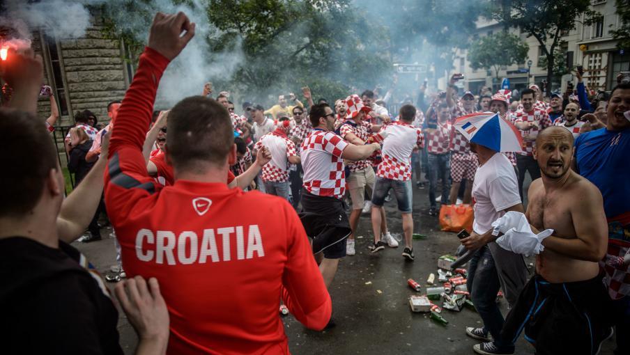 euro 2016   ambiance bon enfant avant le match turquie