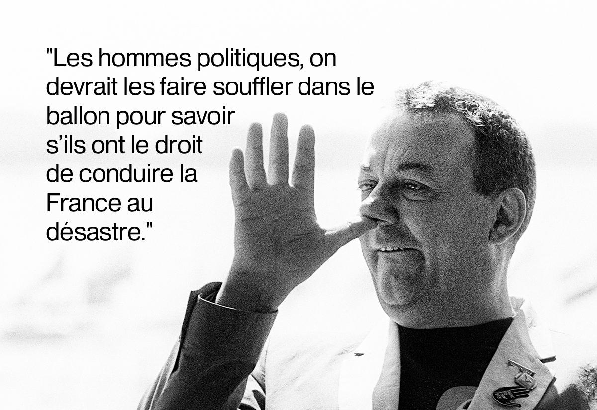 en images dix citations de coluche qui collent parfaitement au monde d 39 aujourd 39 hui. Black Bedroom Furniture Sets. Home Design Ideas