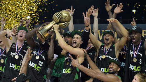 Basket : Villeurbanne sacré champion de France en battant Strasbourg