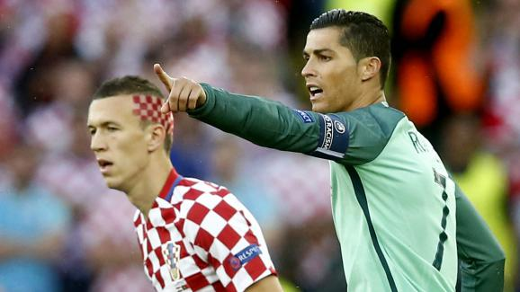 En images euro 2016 l 39 improbable coupe de cheveux d 39 ivan perisic - Coupe christiano ronaldo ...