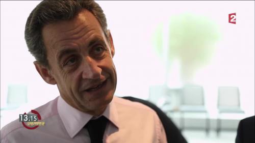"VIDEO. 13h15. Nicolas Sarkozy : ""Le projet du parti m'engage"""