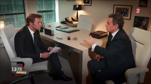"VIDEO. 13h15. Nicolas Sarkozy : ""Monsieur Hollande paie aujourd'hui le prix du mensonge"""