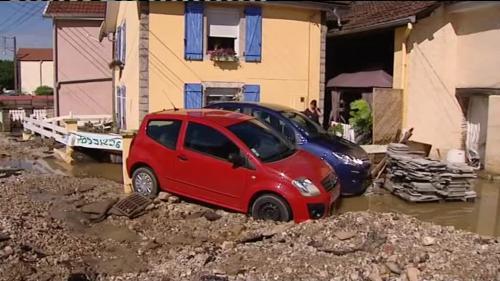 Intempéries : l'est de la France durement touché