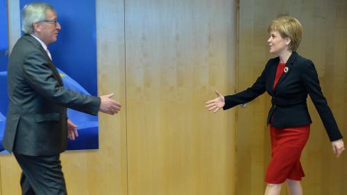 DIRECT. Brexit : le président de la Commission européenne reçoit la Première ministre écossaise