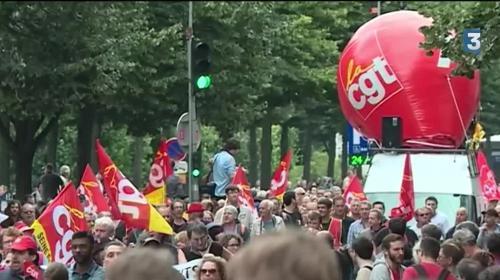 Loi Travail : nouvelle manifestation à Paris sans incident
