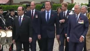 Centenaire de la bataille de la Somme : François Hollande et David Cameron réunis pour les commémorations