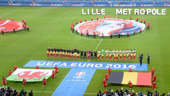Belgique - Pays de Galles : les supporters donnent de la voix
