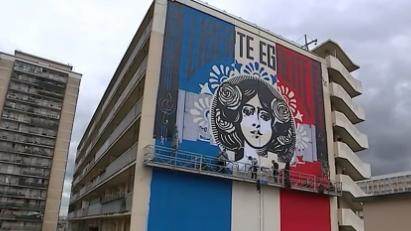 Street art : Obey fait escale en France