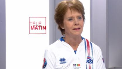"""Les 4 Vérités : l'ambassadrice d'Islande """"très fière"""" de son équipe"""