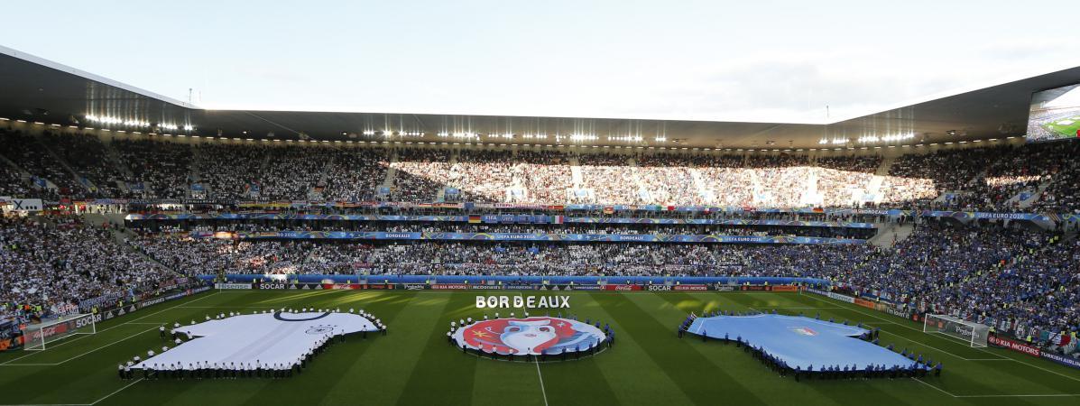 Euro 2016 les loges du stade de bordeaux taient aux trois quarts vides lor - Location loge stade de france ...