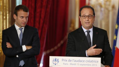 """Macron et Hollande, c'est """"je t'aime moi non plus"""""""
