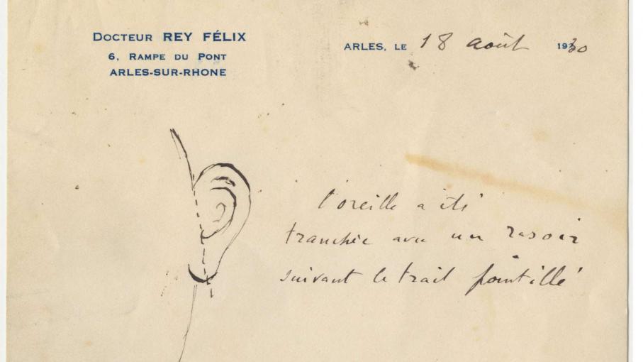 Une lettre relance le myst re de l 39 oreille tranch e de - Vincent van gogh autoportrait a l oreille coupee ...