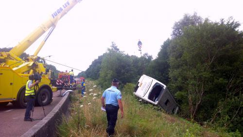 Accident de car dans le Jura : 15 blessés dont 2 graves