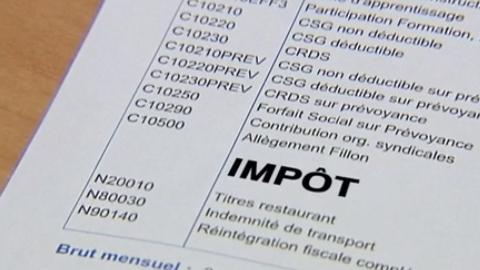Impôts à la source : pas si simple !