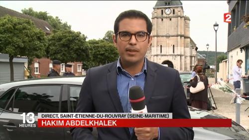 Saint-Etienne-du-Rouvray : la commune unie dans la douleur