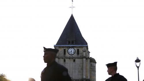 """Saint-Étienne-du-Rouvray : les deux terroristes se connaissaient depuis """"au moins trois jours"""""""