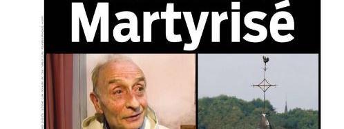 """La une du quotidien """"Aujourd'hui en France""""."""