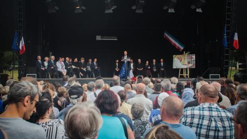 VIDEO. Un hommage rendu à Jacques Hamel à Saint-Étienne-du-Rouvray