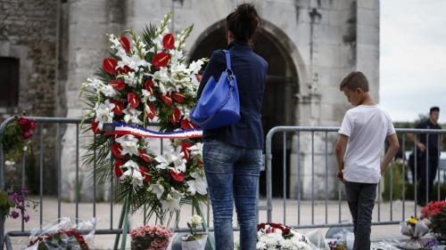 Saint-Etienne-du-Rouvray : les musulmans rendent hommage au père Hamel
