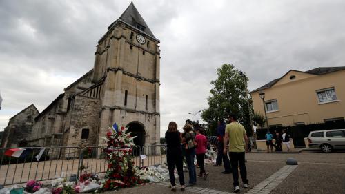 Attentat de Saint-Etienne-du-Rouvray : ce que l'on sait des cinq personnes en garde à vue