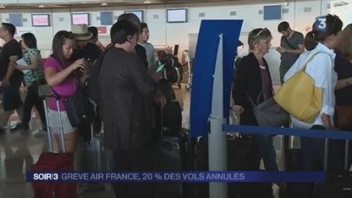 La grève se poursuit à Air France