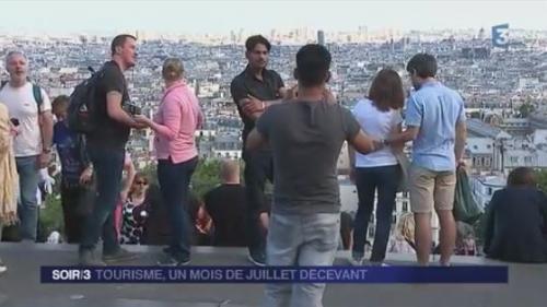 Eté maussade pour le tourisme en France