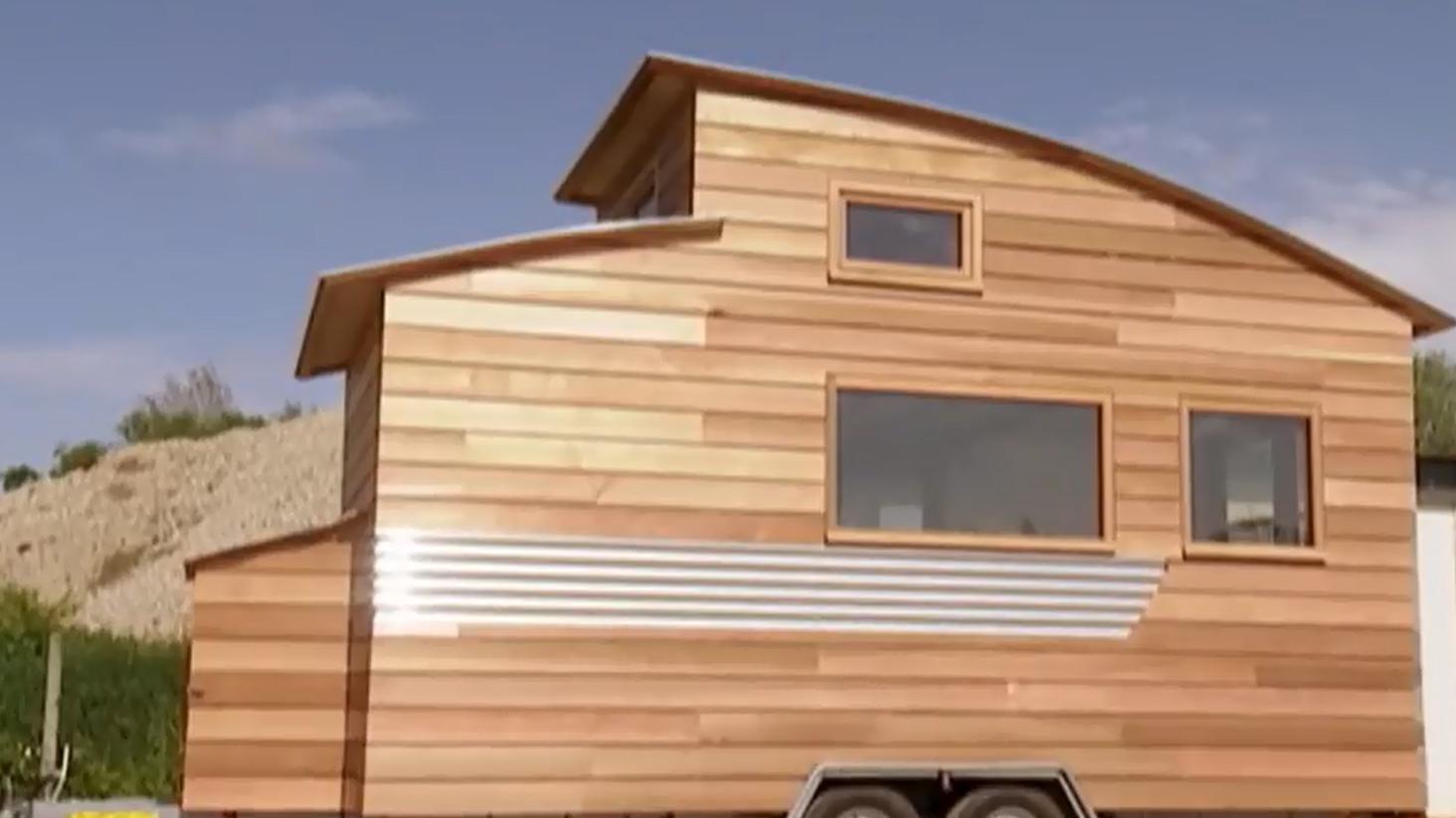 tiny house le succ s de ces petites maisons en bois transportables. Black Bedroom Furniture Sets. Home Design Ideas