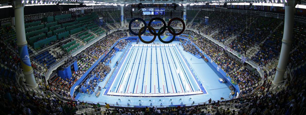 Jo 2016 certaines lignes d 39 eau auraient t plus favorables aux nageurs - La piscine olympique montpellier ...