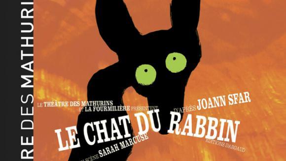 theatre des mathurins chat du rabbin