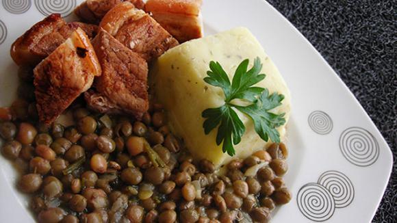 Repas de Noël à l'ancienne aux Antilles