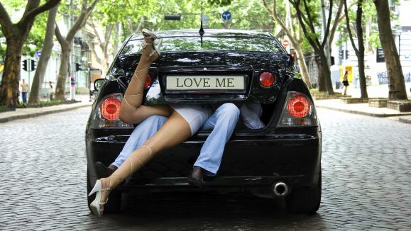image amour voiture