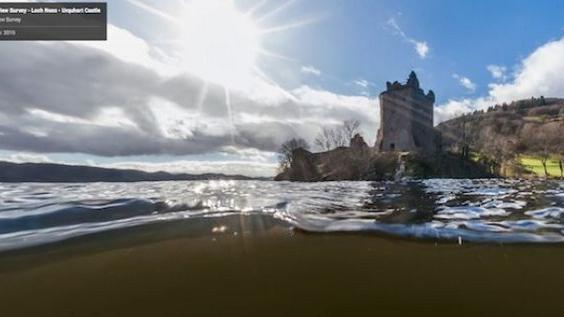 Google part son tour la recherche du monstre du loch ness - La cuisine du monstre tours ...