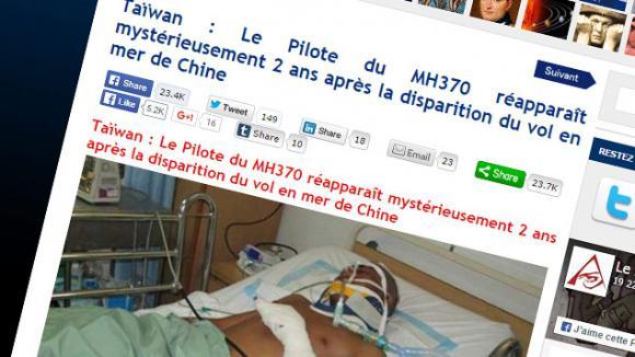 Non Le Pilote Du Vol Mh370 N A Pas Reapparu