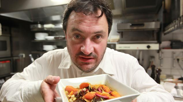Yves camdeborde les bars eau les restaurants for Cuisinier yves camdeborde