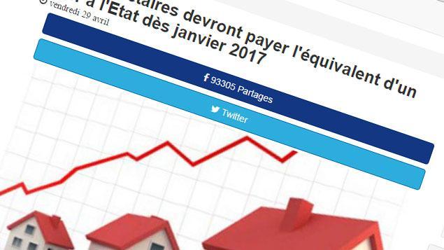 La rumeur sur la taxe du loyer fictif des propri taires encore d mentie - Taxe pour les proprietaires occupants ...